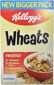 Kellogg's Frosted Wheats 600 g (Pack of 5) @ Amazon - £6.15 Prime / £10.54 non-Prime