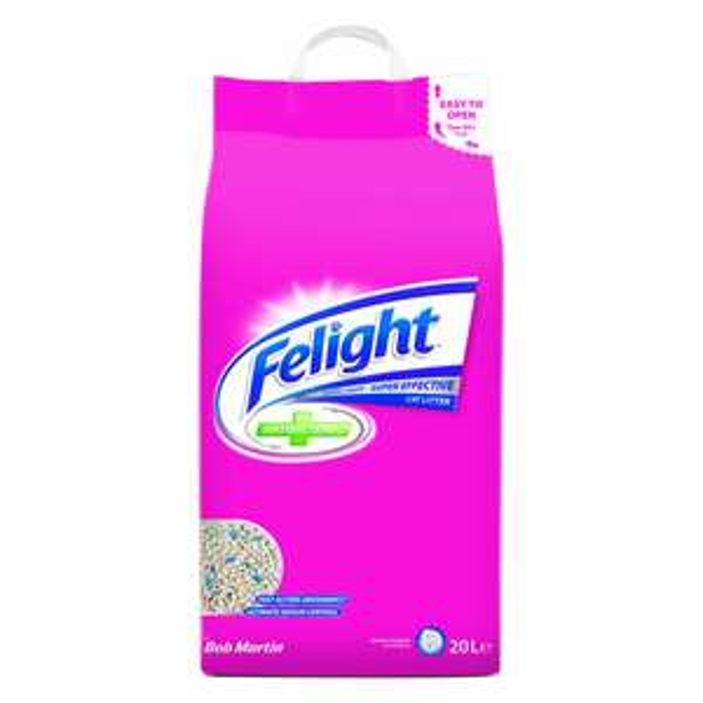 Felight Cat Litter 20L £5 (Free C&C) @ Wilko