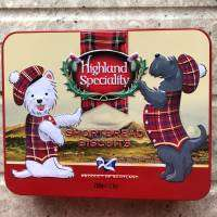 Christmas Tin of Shortbread biscuits 200g Designs Vary only £1 @ Poundland