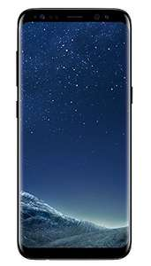 Samsung Galaxy S8 64GB in Midnight Black for £364.02 Delivered (fee free) @ Amazon Germany