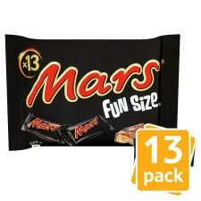 Funsize bags Mars Maltesers Milky Bar Crunchie M&M's etc only £1.25 @ One Stop