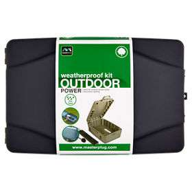 Asda - Masterplug Weatherproof Outdoor Power Box with 10m 4 socket extension lead.- reduced from £20 - £15