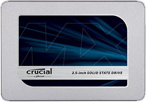 Crucial MX500 CT250MX500SSD1(Z) 250 GB Internal SSD (3D NAND, SATA, 2.5 Inch) £47.99 @ Amazon