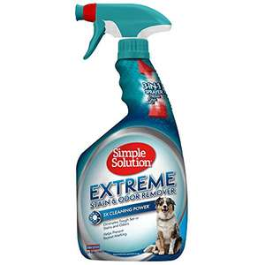 Simple Solution Extreme Stain and Odour Remover, 945 ml £5.58 Prime / £10.07 Non Prime@ Amazon