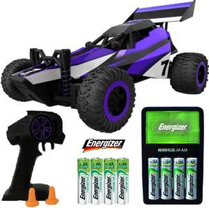 RC 1:32 Scale Mini Buggy W/ Trigger Controller + Energizer Maxi Charger & 4 X 1300mAh AA Batteries £21.98 W/ Code @ Robert Dyas (Free C&C)