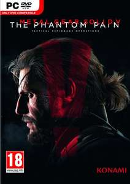 Metal Gear Solid V 5: The Phantom Pain PC Steam Key £2.99/£2.90 with FB code @ CD KEYS