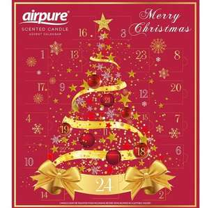 Airpure Christmas Scented Candle Advent Calendar - £3.99 @ B&M