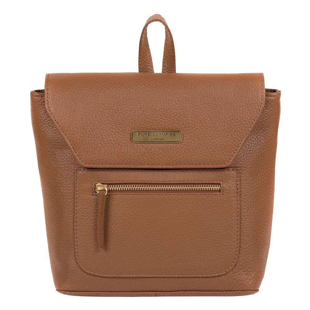 Pure Luxuries London - Tan 'Yeadon' leather backpack - £36 @ Debenhams (+£3.49 P&P)
