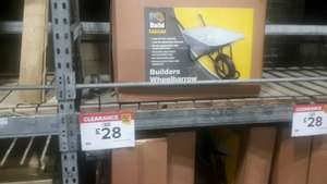 Cheap wheelbarrow - £28 instore @ b&q (Poole)
