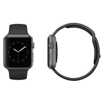 Apple Watch Series 3 Refurbished GPS Space Grey Aluminium 42MM Black Sport Band - £199.99 @ Music Magpie