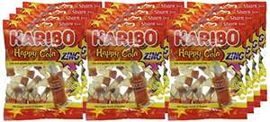 Haribo Happy Cola, 140 g, (Pack of 12) £5.25 (£0.44/pack) @ Amazon (Add-on item)