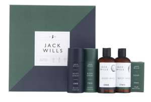 Jack Wills Bathing Gift Set £18.75 and 3 for 2 @ boots