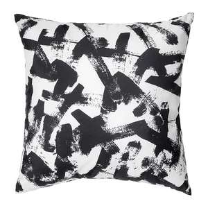 Turill Black and White Cushion £1.25 @ Ikea in-store