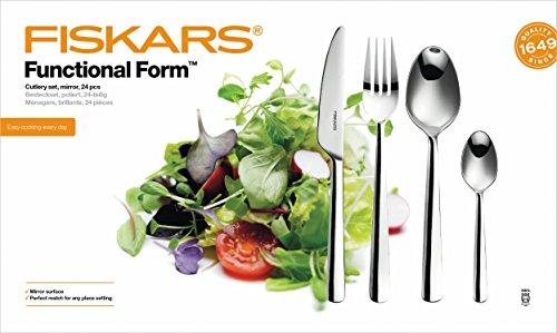 Fiskars Cutlery Set, 24 pieces £10.44 (Prime) / £14.93 (non Prime) at Amazon
