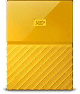 WD My Passport 4 TB Portable external Hard Drive and Auto Backup Software 3 year warranty and free delivery £87.89 @ Amazon