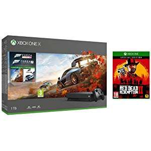 Xbox One X Forza Bundle with RDR Special (Read Post) £340 Amazon