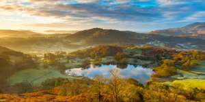 1 night Lake District: Windermere Hotel Break for 2 with full Cumbrian Breakfast,and 3-course set-menu dinner £99 at Travelzoo