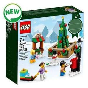 Spend £20 on Toys inc Sale / Offers & get LEGO Christmas Town Square for £5 using code at The Entertainer (+ Free C+C)