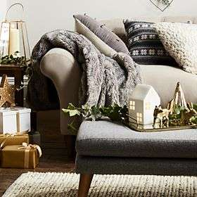 M&S Home Event - 20% Off Homewares inc Christmas & Up to 40% Off Furniture + Free C+C eg 6 pack Champagne Flutes £6 / 6 Piece Towel Bale £8