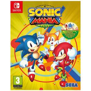 Sonic Mania Plus (nintendo switch) £22.99 smyths