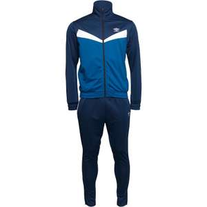 Umbro Mens Training Poly Tracksuit Navy/Royal/White for £19.99 - £4.99 Delivery @ M&M Direct
