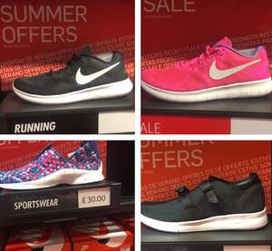 Nike Mens & Women's trainers up to 70% off rrp @ Nike Outlet Leeds Examples in thread