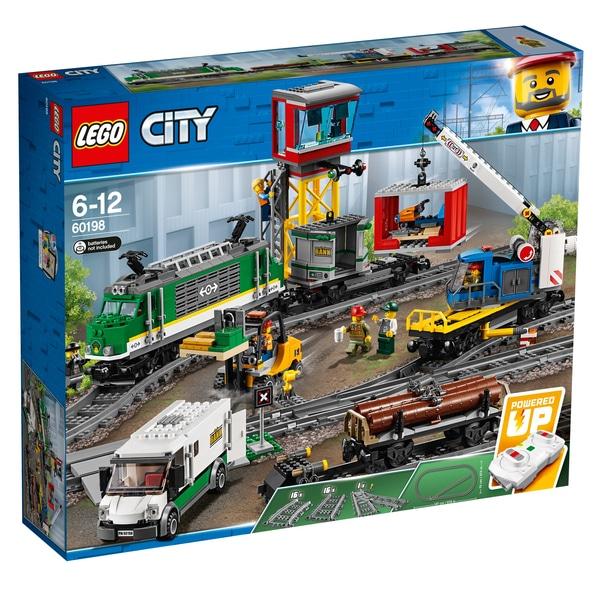 LEGO 60198 City Cargo Train Bluetooth Remote Control and Tracks Building Set £127.99 @ Smyths