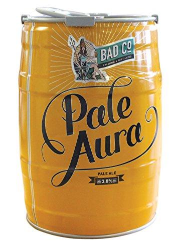 Bad Co Craft Beer Pale Aura Keg keg, 500 cl, Case of 2 @ Amazon £17.66 prime,£22.15 non prime.