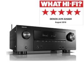 Denon AVRX2500H 7.2 Ch. 4K AV Receiver with Free Amazon Echo Dot £439 @ Electric Shop