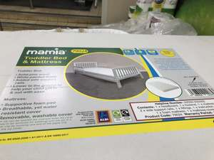 Mamia Toddler Bed & Mattress £24.99 instore @ Aldi South Norwood