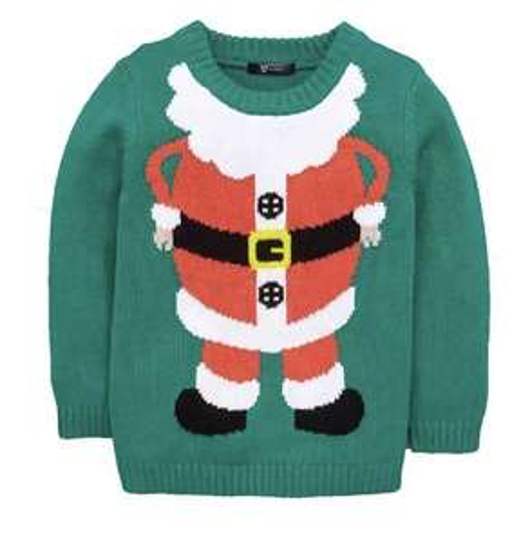 Very toddler boys Santa Christmas knit jumper £5.99 @ very eBay free p+p
