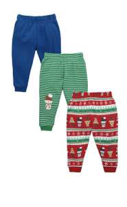 3 pack baby boys Christmas joggers £6.99 @ very  EBay free p+p