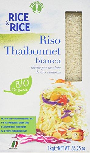 Probios Rice&Rice Thai Long White Grain Rice, 1 kg, Pack of 6@amazon prime and s&s,£7.96 prime,£12.45 non prime.