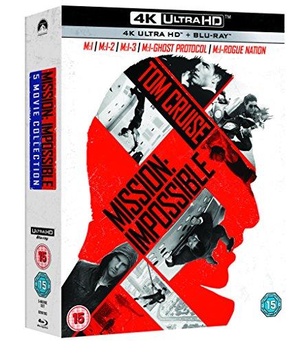 Mission impossible 4k  5 movie boxset £40 Amazon