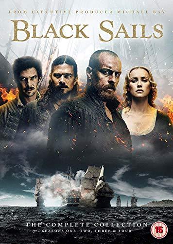 Black Sails: The Complete Collection (Seasons 1-4) [DVD] £15 (Prime) / £17.99 (non Prime) at Amazon