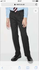 Boys school trousers only £3 @ Next (free next day c&c or £3.99 home delivery)