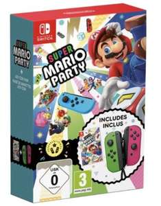Super Mario party with neon green and neon pink joy con controllers for Nintendo Switch £85.45 delivered @ The Game Collection