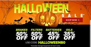 Eurocarparts Halloween Discount 50 Off Breaks Filters 45 Off