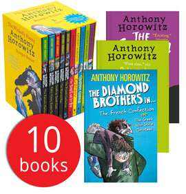 Anthony Horowitz's Wickedly Funny Collection 10 Books £10.94 / Peppa Pig First Experiences 8 Books £10.94 Del w/code @ The Book People