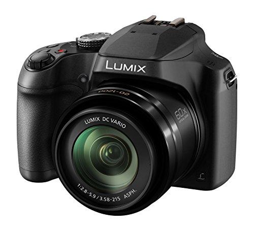 Panasonic DC-FZ82EBK 60x Optical Zoom Lumix Digital Camera, Black (AMAZON) - £209