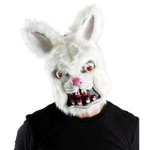 Frightening Fur Balls Mask only £5.00 plus more Halloween Masks from £3.00 at Wilko