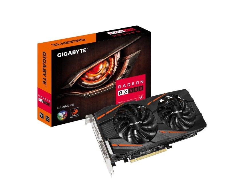 Gigabyte AMD Radeon RX 580 Gaming 8GB Graphics Card(3 free games), £224.98 at Ebuyer