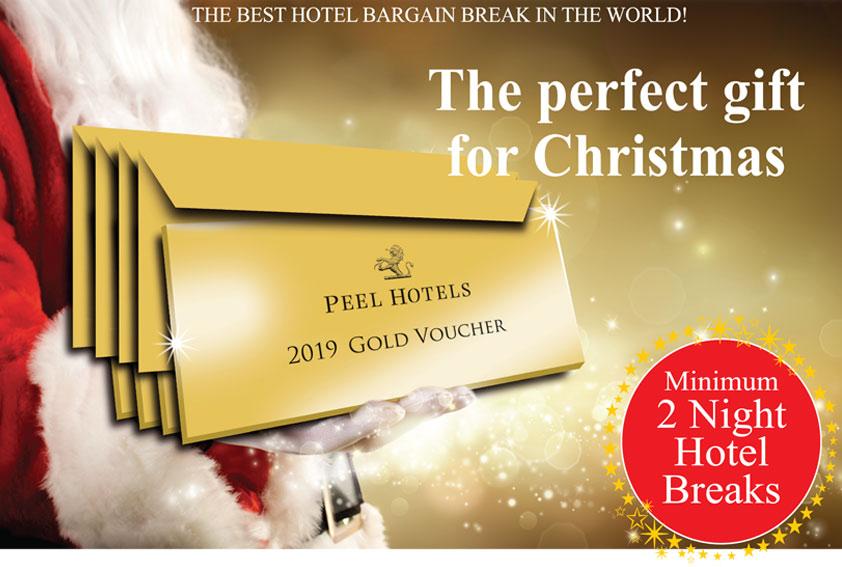 Peel Hotels Gold Voucher 2019 £159 - Hotel breaks with dinner, bed & breakfast