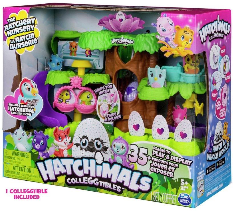 Hatchimals colleggtibles The hatchery nursery £19.99 Prime / £24.48 Non Prime @ Amazon