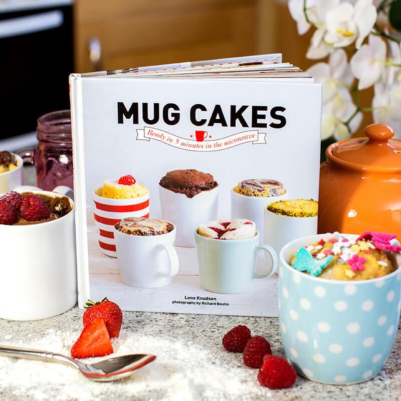 Mug Cake receipe book £7.99 + £1.99 delivery @ Prezzybox