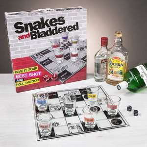 Adult version of Snakes and ladders £9.99 + £1.99 @ Prezzybox
