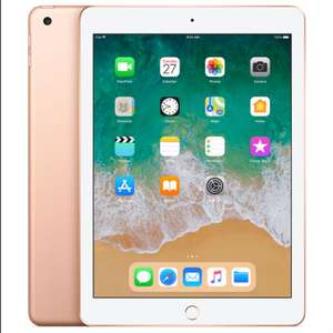 "Apple ipad 9.7"" (2018) 32GB Wifi - Gold - £262.99 @ eGlobal Central"