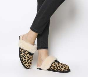UGG Scuffette II Slippers in Leopard Print - £71.99 (with code) delivered at Office.co.uk