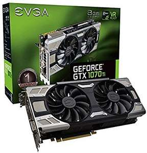 EVGA GeForce GTX 1070 Ti FTW ULTRA SILENT GAMING - £394.53 @ Amazon