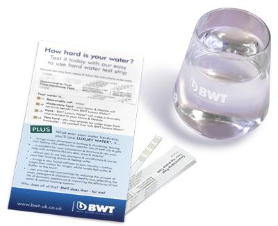 Free Hard Water Testing Kit from BWT